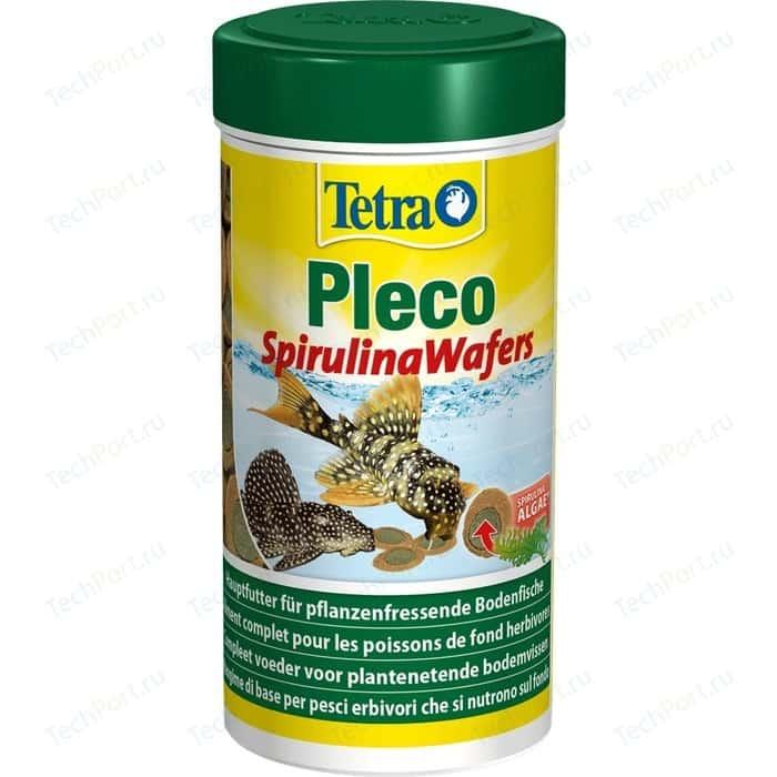 Корм Tetra Pleco Spirulina Wafers Complete Food for Herbivorous Bottom-feeding Fish чипсы для травоядных донных рыб 3,6л