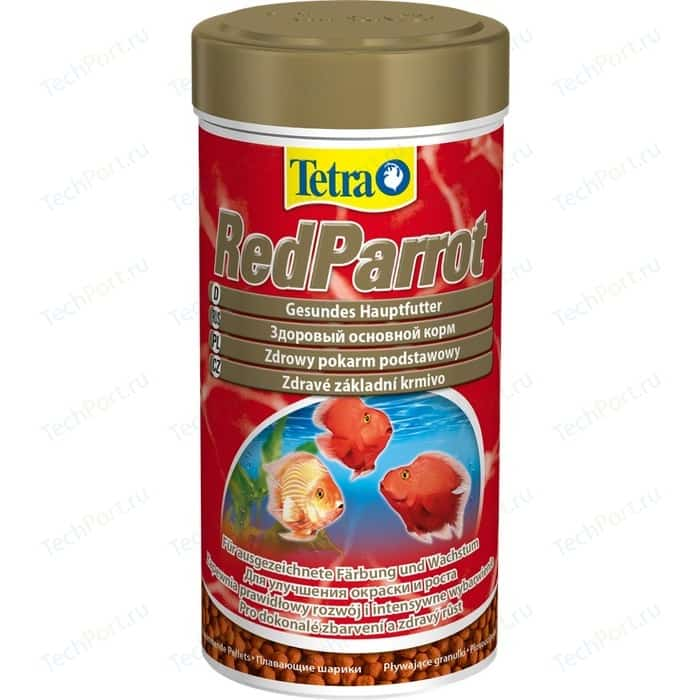 Корм Tetra RedParrot Balls Healthy Complete Food for Red Parrot Fish плавающие шарики для красных попугайчиков 1л