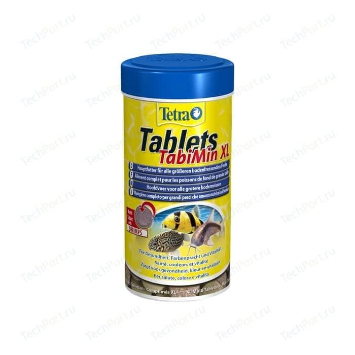 Корм Tetra Tablets TabiMin XL Shrimps Complete Food for Bottom-feeding Fish таблетки с креветками для всех видов донных рыб 133таб корм tetra tablets tabimin для всех видов донных рыб 500 мл 310 г 1040 таблеток