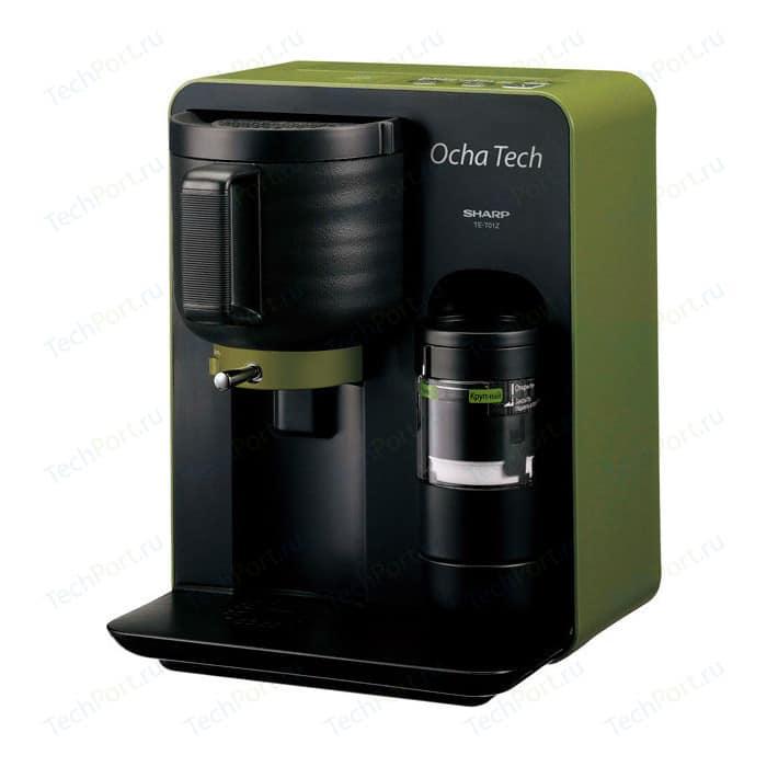 Чайная машина Sharp Ocha Tech TET01ZGR, зеленая