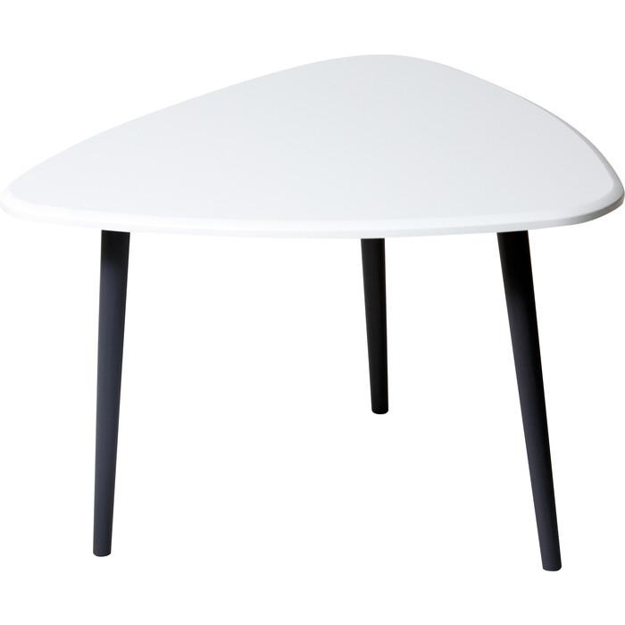 Стол журнальный Калифорния мебель Квинс белый стол журнальный калифорния мебель мельбурн белый
