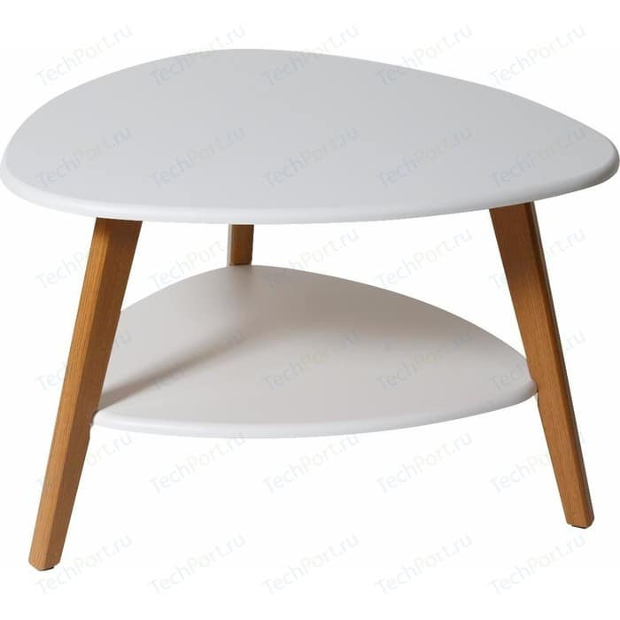 Стол журнальный Калифорния мебель Бруклин белый стол журнальный калифорния мебель мельбурн белый