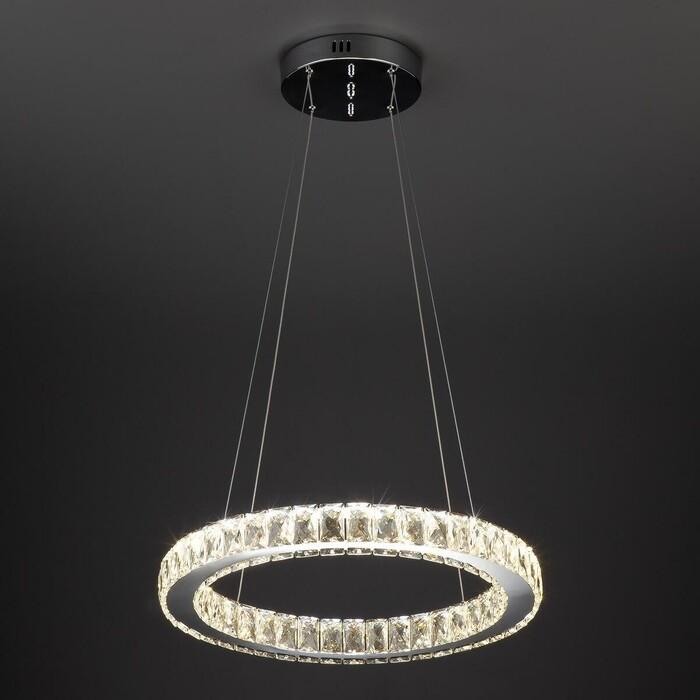 Подвесной светодиодный светильник Eurosvet 90023/1 хром