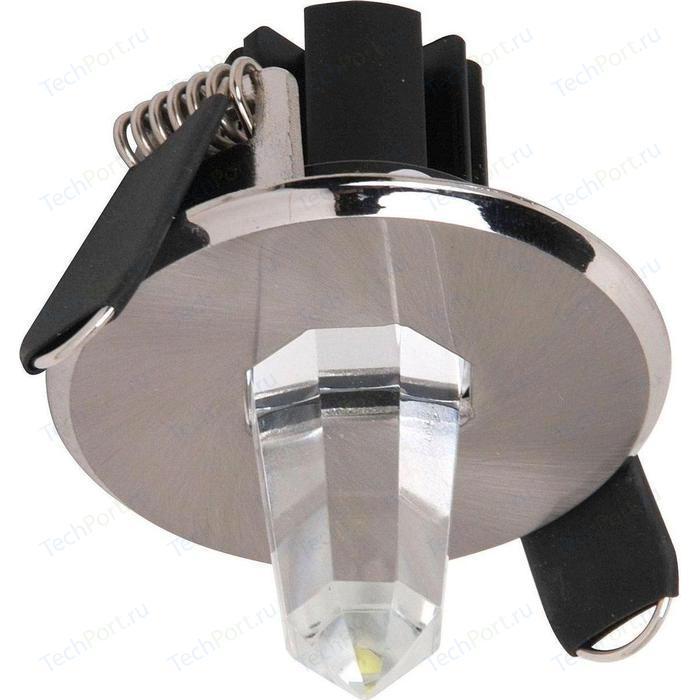 Встраиваемый светодиодный светильник Horoz Natalia красный 016-001-0001