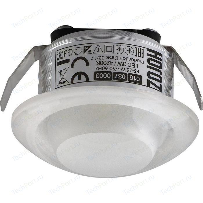 Встраиваемый светодиодный светильник Horoz 3W 4200К 016-037-0003 встраиваемый светодиодный светильник horoz 5w 4200к 016 040 0005