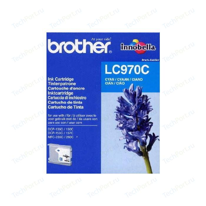 Картридж Brother LC970C brother dr3200