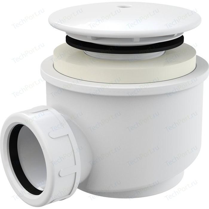Сифон для душевого поддона AlcaPlast D60 белый (A47B-60)