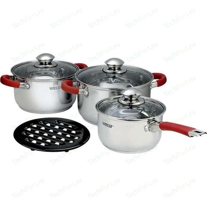 Набор посуды из 7 предметов Vitesse (VS-9016)