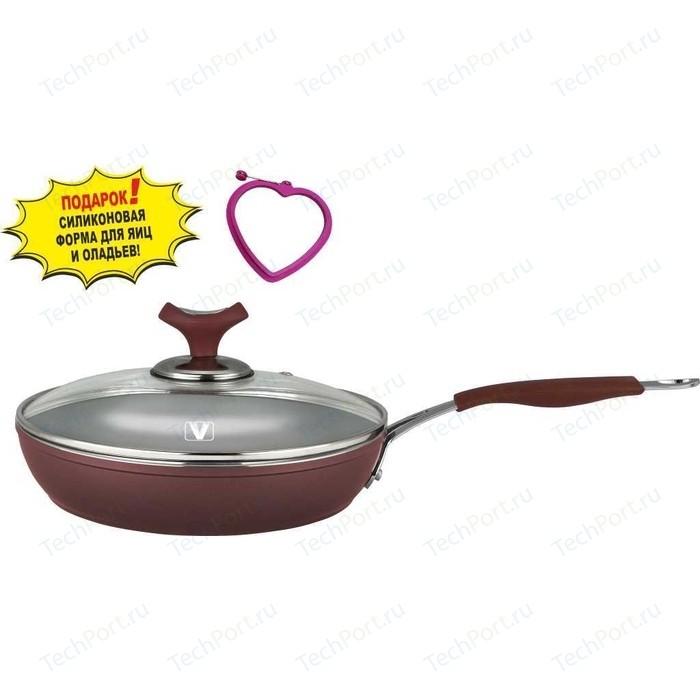 Сковорода с крышкой Vitesse d 20см Renaissance (VS-2515) сковорода vitesse d 20см elegance vs 2907