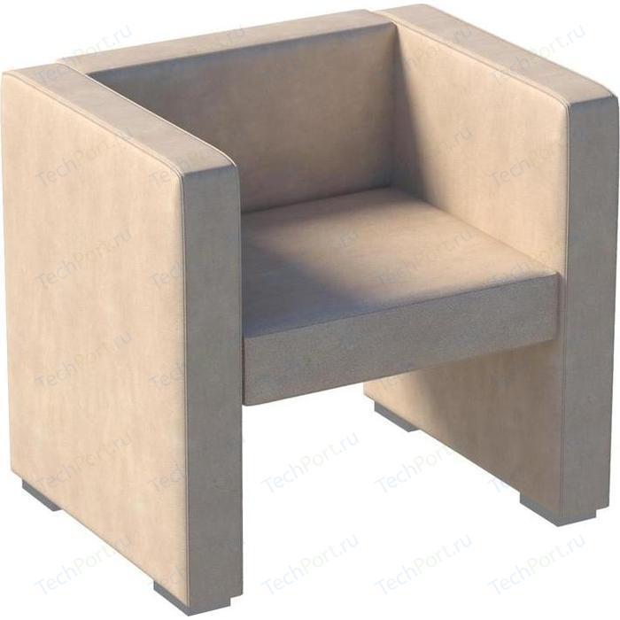 Мебелик Кресло Бриф экокожа бежевый