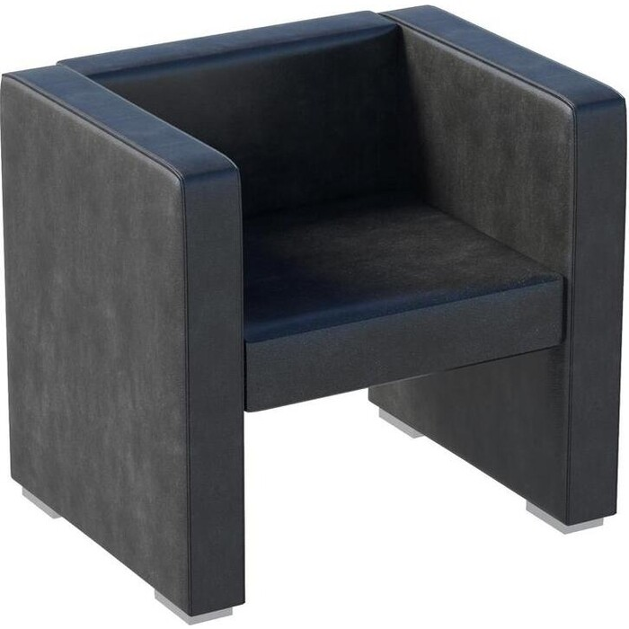 Кресло Мебелик Бриф экокожа черный