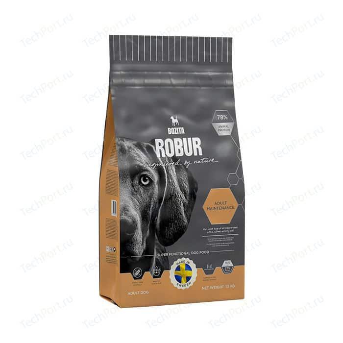 Сухой корм BOZITA ROBUR Adult Maintenance 27/15 для взрослых собак с нормальным уровнем активности 13кг (14342)