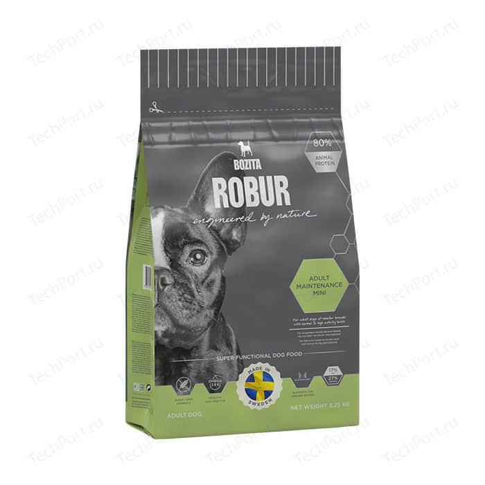 Сухой корм BOZITA ROBUR Adult Maintenance mini 27/17 для собак мелких и средних пород с нормальным высоким уровнем активности 3,25кг (14933)