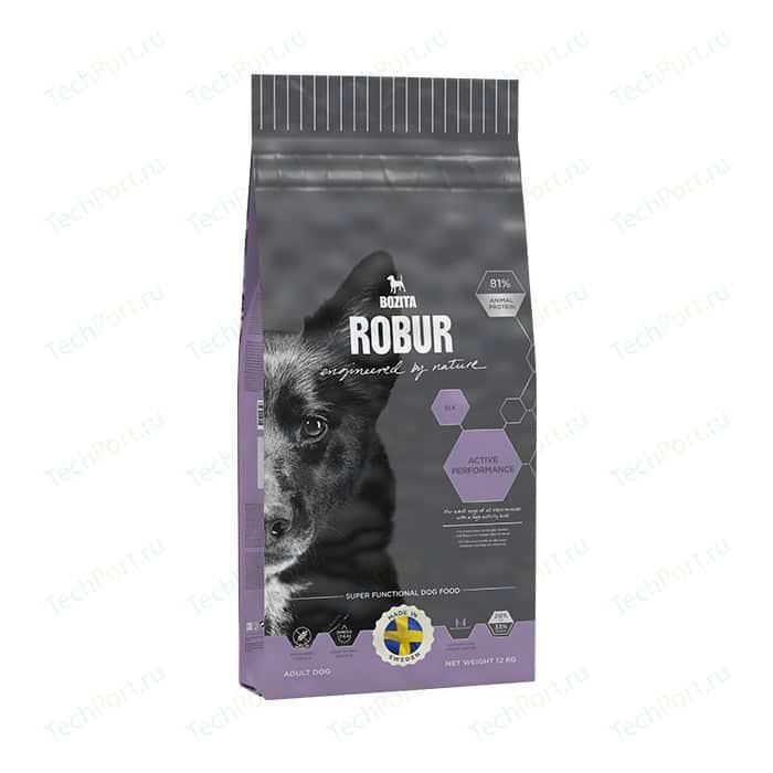 Сухой корм BOZITA ROBUR Active Performance Elk 33/20 с мясом лося для щенков, беременных и кормящих ативных собак 12кг (14742)