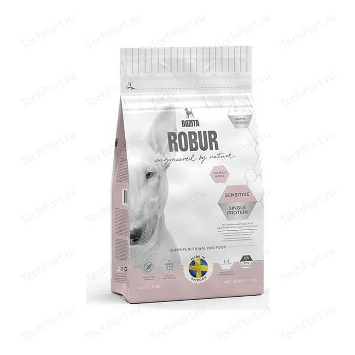 Сухой корм BOZITA ROBUR Sensitive Single Protein Salmon & Rice 21/11 с лососем и рисом для собак чувствительным пищеварением 3кг (14233)