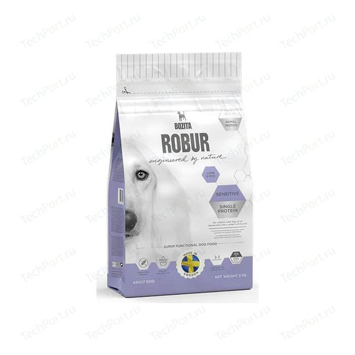 Сухой корм BOZITA ROBUR Sensitive Single Protein Lamb & Rice 23/13 с ягненком и рисом для собак чувствительным пищеварением 3кг (14833)