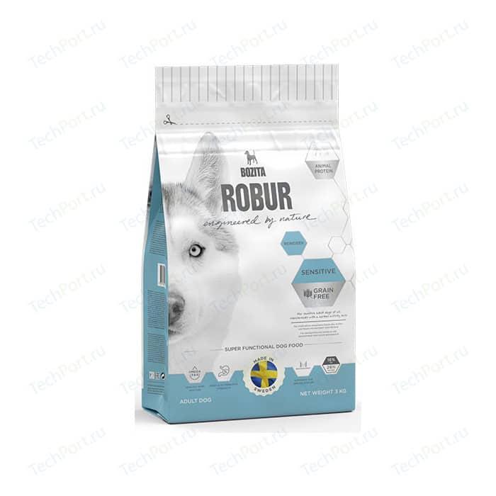 Сухой корм BOZITA ROBUR Sensitive Grain Free Reindeer 26/16 беззерновой с мясом оленя для собак чувствительным пищеварением 3кг (24221)