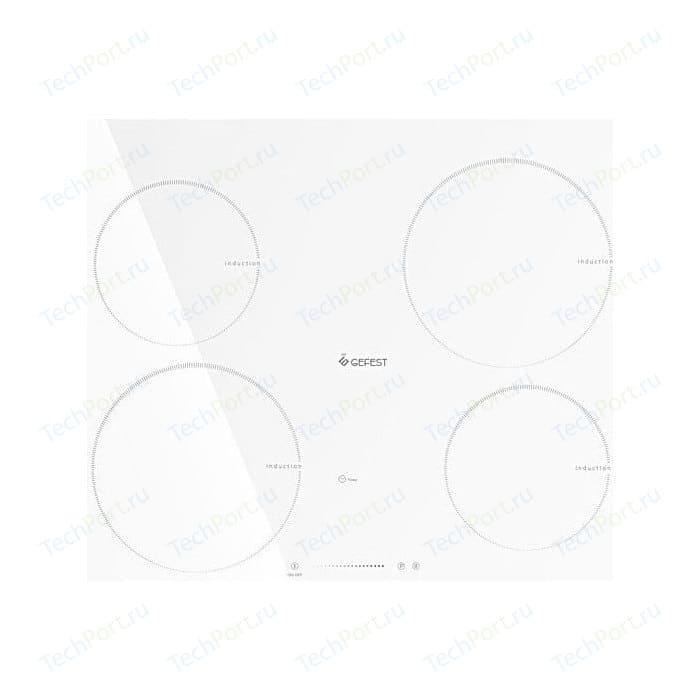Индукционная варочная панель GEFEST ЭС В СН 4232 К12 gefest эс в сн 4232 к12 белый