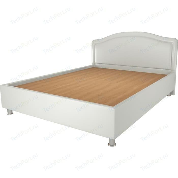 Кровать OrthoSleep Арно lite жесткое основание Сонтекс Милк 160х200 кровать orthosleep градо lite жесткое основание сонтекс милк 160х200
