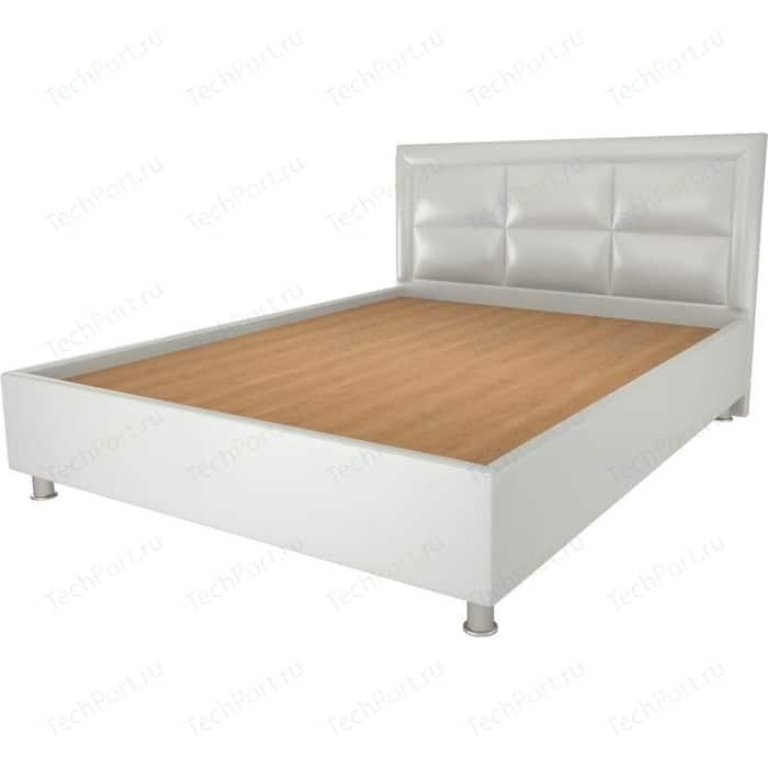 Кровать OrthoSleep Сполето lite жесткое основание Сонтекс Милк 180х200