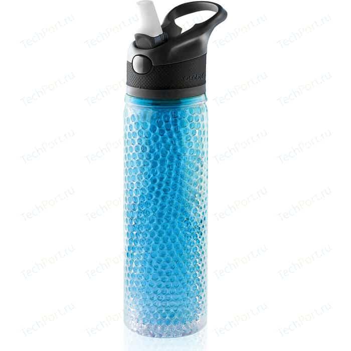 Термобутылка 0.6 л Asobu Deep freeze голубая (PF02 blue)