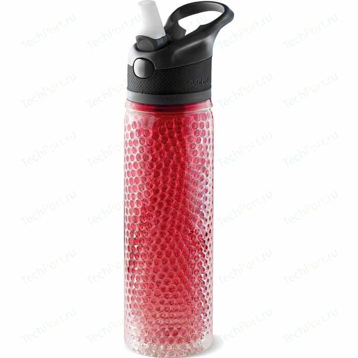 Термобутылка 0.6 л Asobu Deep freeze красная (PF02 red) red padded design deep v neck bodysuit swimwears
