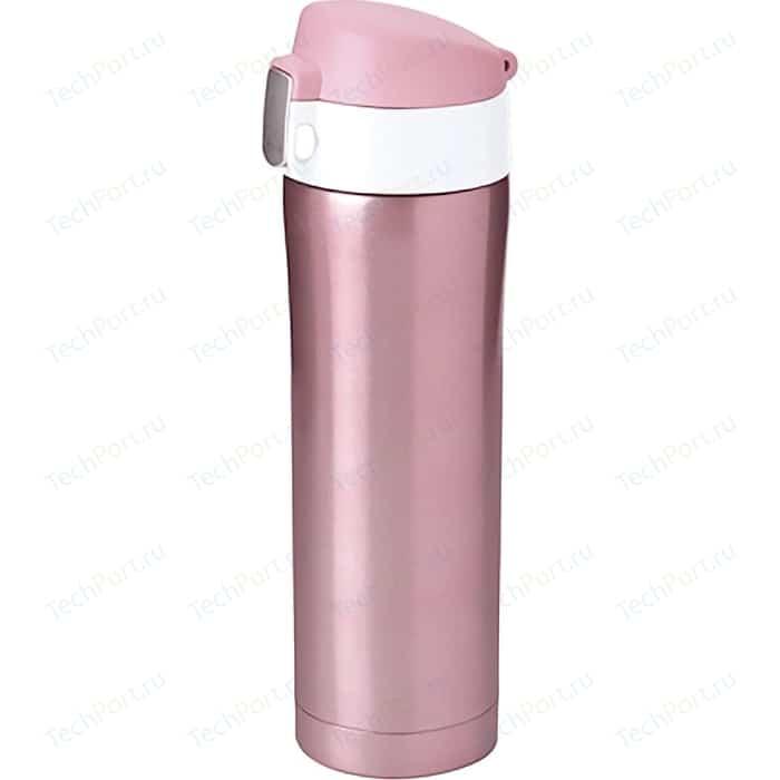 Термокружка 0.45 л Asobu Diva cup розовая (V600 pink-white)