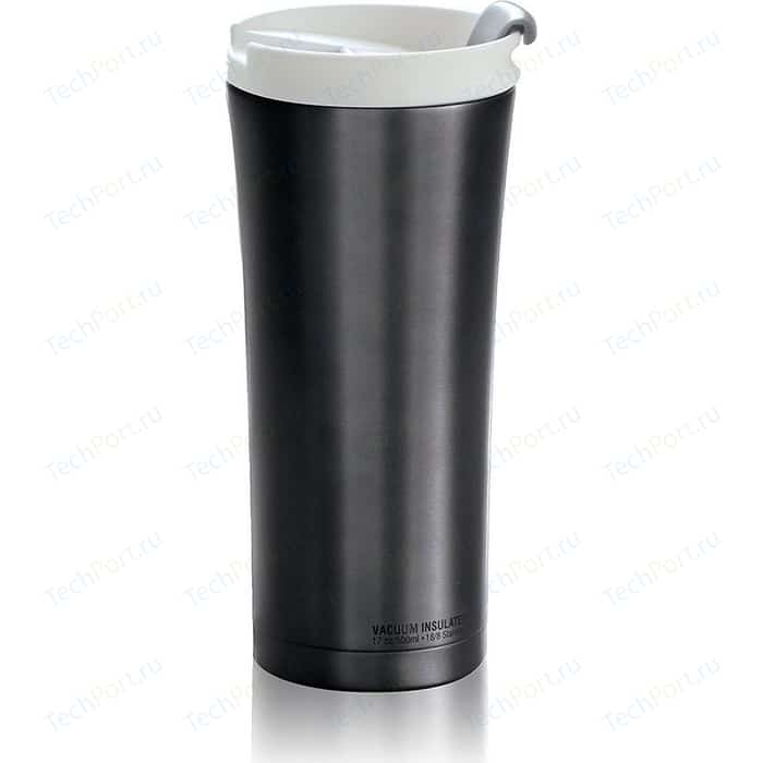 Термокружка 0.5 л Asobu Manhattan coffee tumbler серая (V700 smoke)