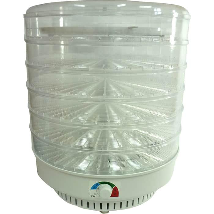 Сушилка для овощей Спектр-Прибор Ветерок-2 ЭСОФ-0,6/220 (6 прозр. реш. гофротара)+поддон