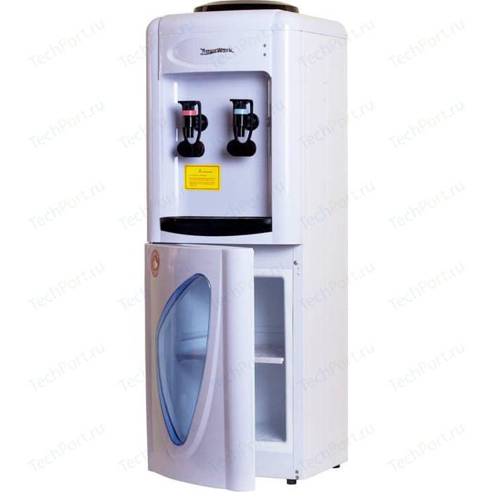 Кулер для воды Aqua Work 0.7-LDR (бело-черный) кулер для воды aqua work 36tkn white