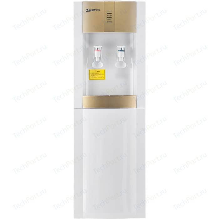 Кулер для воды Aqua Work 16-LD/EN (бело-золотой)