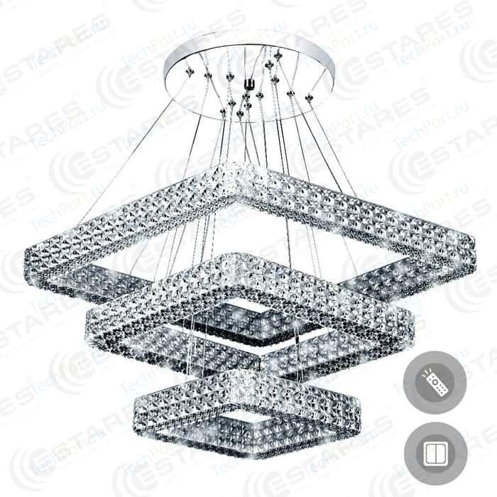 Управляемый светодиодный светильник Estares AKRILIKA 80W 3S-555-CLEAR-220-IP20