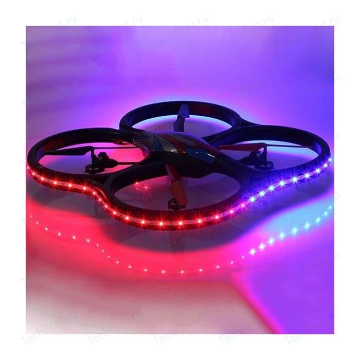 Радиоуправляемый квадрокоптер WL Toys UFO Drones V333 Headless Cyclone LED Edition 2.4G