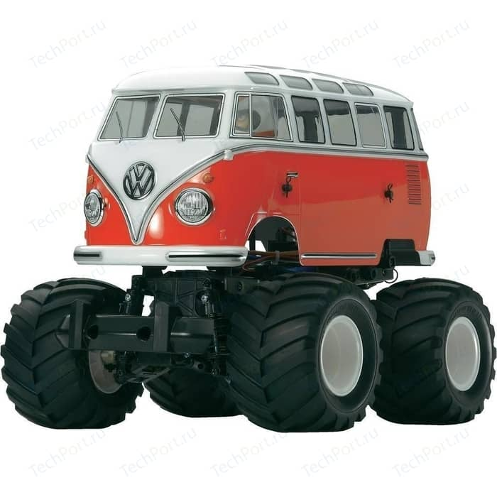 Радиоуправляемый внедорожник Tamiya XB VW T1 Wheelie ARR масштаб 1:10 2.4G