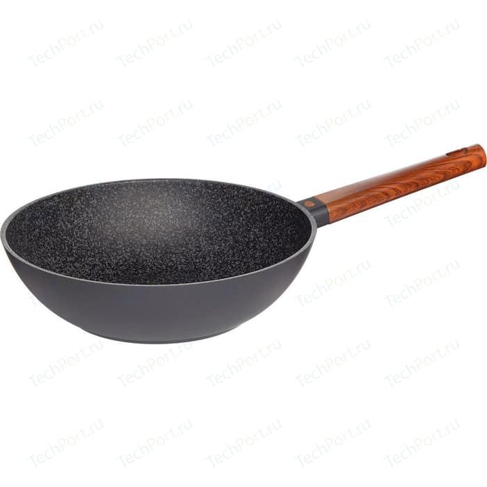 Сковорода WOK Nadoba d 28см Oldra (728822) сковорода d 24 см kukmara кофейный мрамор смки240а