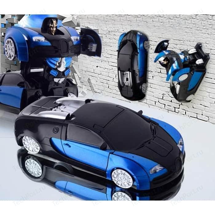 Радиоуправляемый трансформер MZ Model Bugatti Veyron 1:24 кеды bugatti bugatti bu182amedlo9