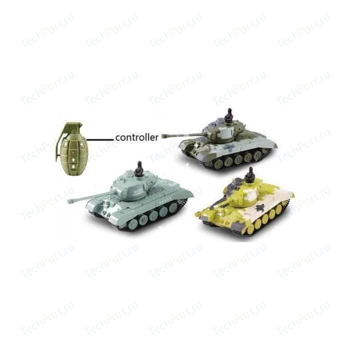 Радиоуправляемый микро танк Meixin 1:77
