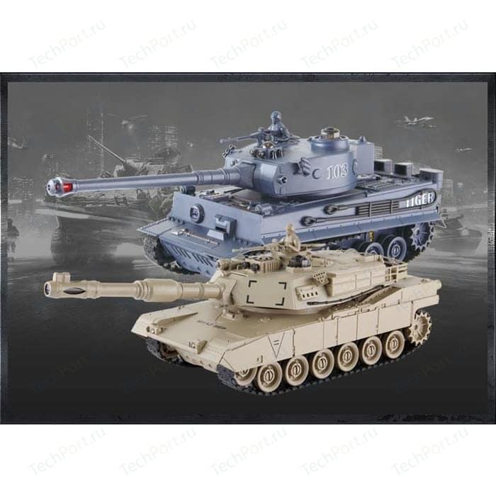Радиоуправляемый танк Zegan TIGER + Abams
