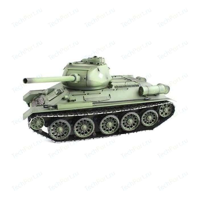 Радиоуправляемый танк Heng Long Russia T34-85 масштаб 1:16 2.4G