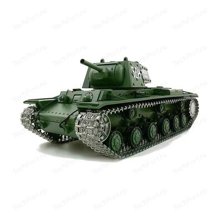 Радиоуправляемый танк Heng Long Russia КВ-1 Pro масштаб 1:16 40Mhz