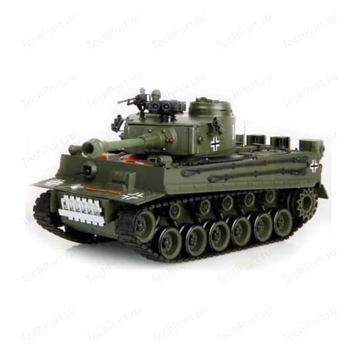 Радиоуправляемый танк HouseHold German Tiger Green масштаб 1:20 40Mhz
