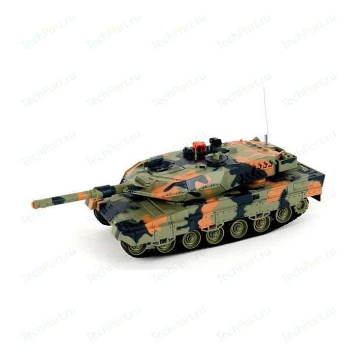Радиоуправляемый танк Huan Qi Leopard 2A5 Infrared Battle Tank масштаб 1:28 40Mhz