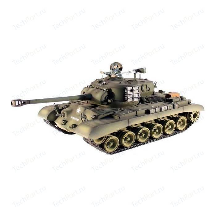 Радиоуправляемый танк Taigen M26 Pershing Snow Leopard Pro масштаб 1:16 2.4G