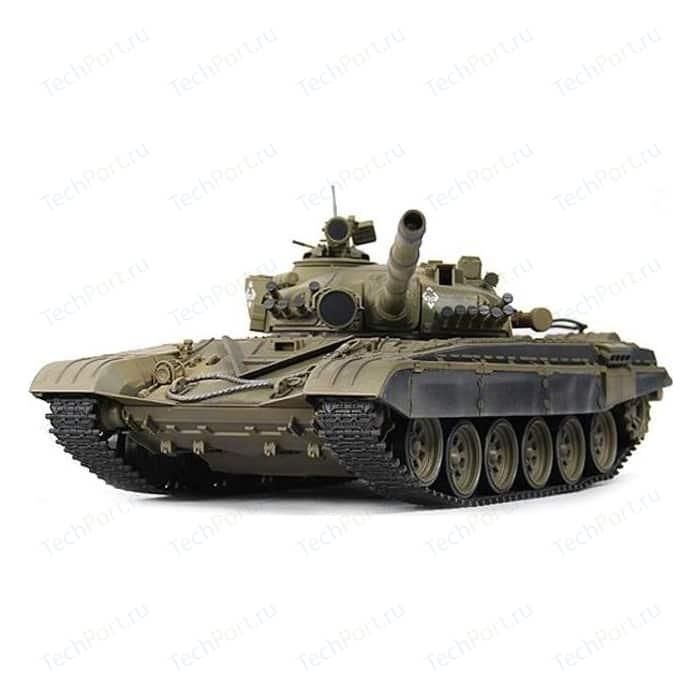 Радиоуправляемый танк VSTANK Airsoft Series Russia T72-M1 Green масштаб 1:24 2.4G