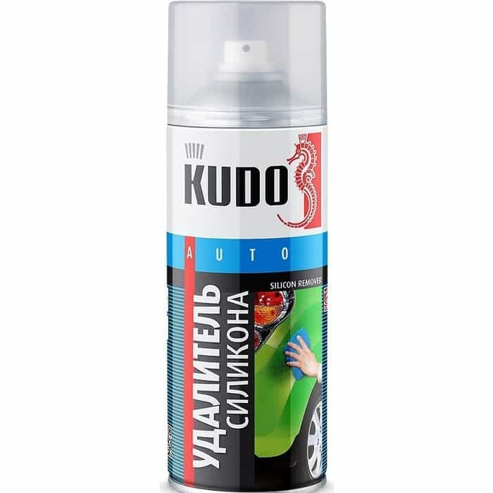 Удалитель силикона аэрозольный KUDO 520мл. (6)KU-9100