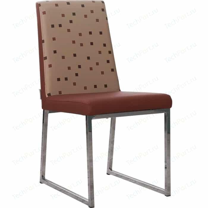 Стул кухонный AlwaysSTAR S21 cappuccino экокожа, мягкое сиденье (2 шт)