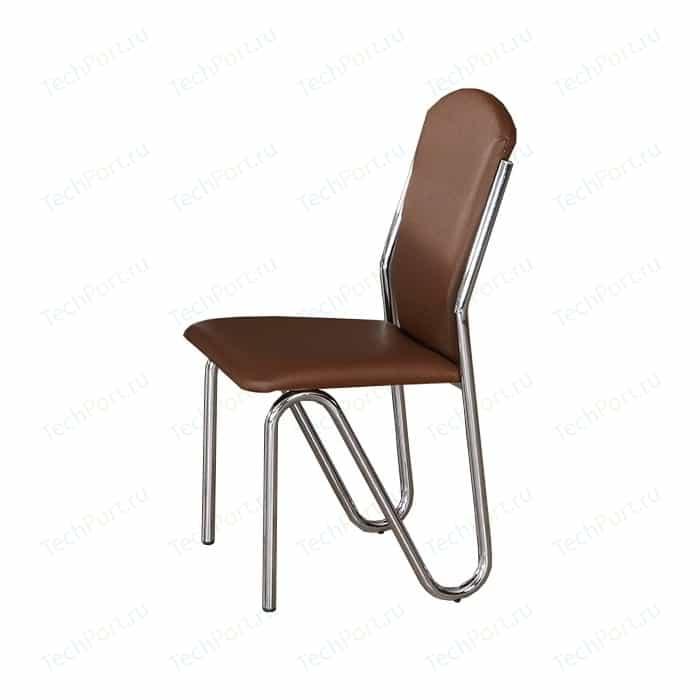 Стул кухонный AlwaysSTAR S43 brown экокожа, мягкое сиденье (2 шт)