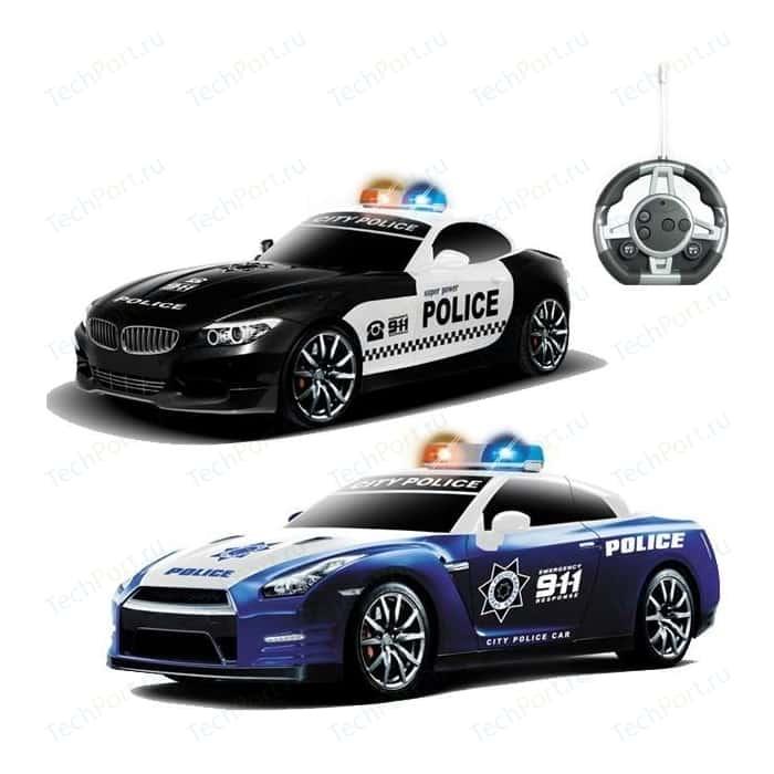 Радиоуправляемый конструктор MYX автомобили BMW и Nissan Полиция