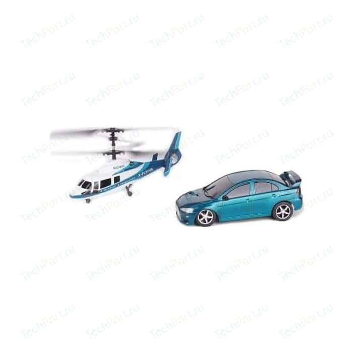 Радиоуправляемый игровой набор Wineya вертолет и машина