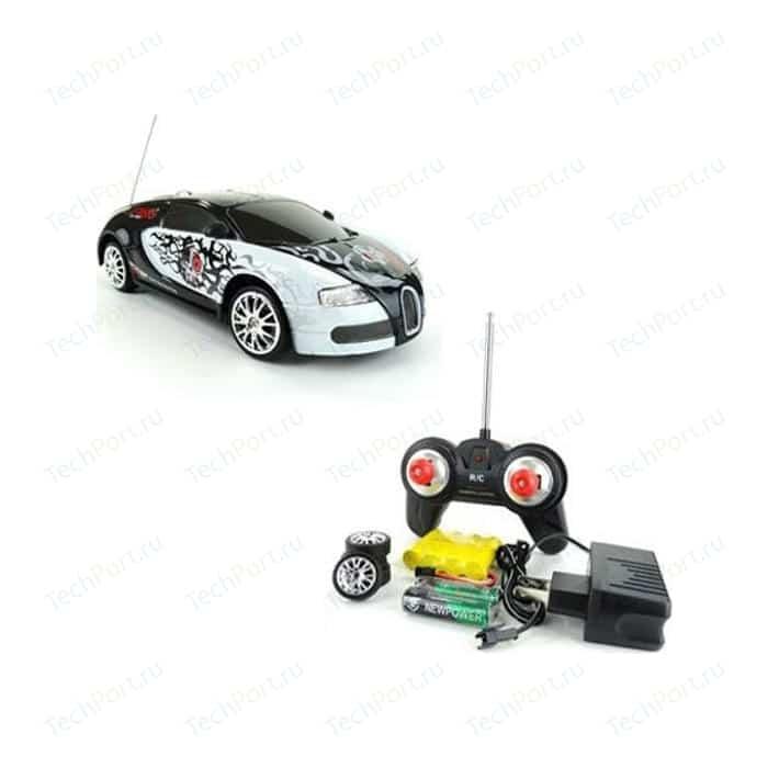 Радиоуправляемая машинка для дрифта 1Toy Bugatti Veyron 4WD масштаб 1-24 (666 217)